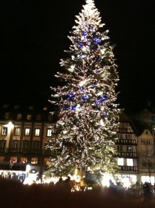 2ème plus grand sapin de noël du monde : Strasbourg