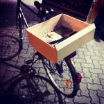 Vélo Customisé avec un tiroir de congélateur