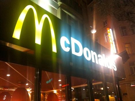 Macdonald's enseigne