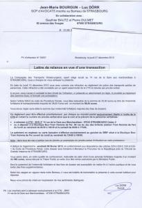 lettre avocat amende CTS Strasbourg pour titre non validé