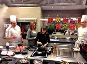 Isa et Réjane à la cuisine !